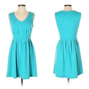 Buttons Size Small Blue Dress
